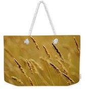 Close-up Of Wheat Weekender Tote Bag