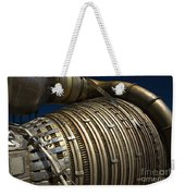 Close-up View Of A Rocket Engine Weekender Tote Bag by Roth Ritter
