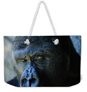 Close View Of A Gorilla Gorilla Gorilla Weekender Tote Bag