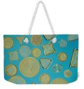 Close View Of Diatoms Weekender Tote Bag