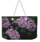 Close View Of Flowering Mountain Laurel Weekender Tote Bag