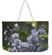 Close View Of Hyacinth Lilacs Syringa Weekender Tote Bag