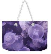 Close View Of Jellyfish Weekender Tote Bag