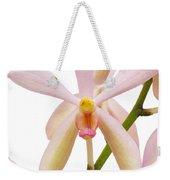 Closeup Pink Orchid Weekender Tote Bag