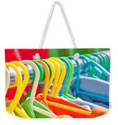 Clothes Hanging Weekender Tote Bag