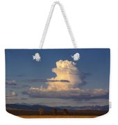 Cloud Over San Luis Valley Weekender Tote Bag