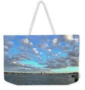 Cloud View From The Old Fort Weekender Tote Bag