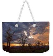 Clouded Sunset Weekender Tote Bag