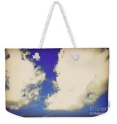 Clouds-10 Weekender Tote Bag
