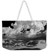 Clouds Above White Sands Weekender Tote Bag