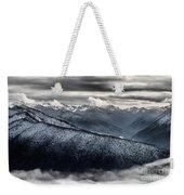 Clouds In The Valley Weekender Tote Bag