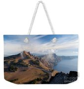 Clouds On The Ridge Weekender Tote Bag