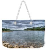 Clouds Over The American River Weekender Tote Bag