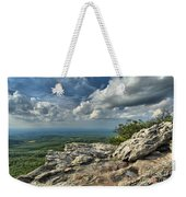 Clouds Over The Cliff Weekender Tote Bag