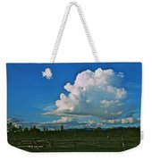Clouds Over The North Forty Weekender Tote Bag