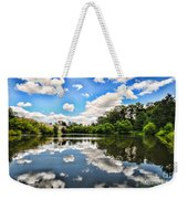 Clouds Reflection On Water Weekender Tote Bag