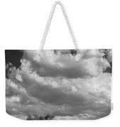 Clouds Rising Bw Palm Springs Weekender Tote Bag