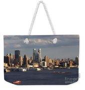 Clouds Rolling In On New York City Weekender Tote Bag