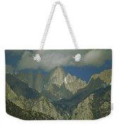 Clouds Shadow Rocky Mountain Peaks Weekender Tote Bag