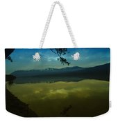 Clouds Trying To Dance In Still Water Weekender Tote Bag
