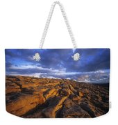 Cloudscape Over A Landscape, The Weekender Tote Bag