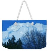 Cloudy Blue Dream Weekender Tote Bag