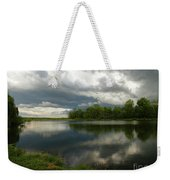 Cloudy With A Chance Of Paint 1 Weekender Tote Bag