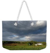 cloudy with a Chance of Paint 2 Weekender Tote Bag