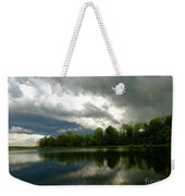 cloudy with a Chance of Paint 4 Weekender Tote Bag