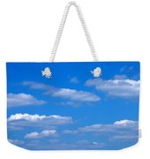 Cloudy With A Chance Of Sky Weekender Tote Bag