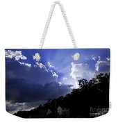 Cloudy With A Chance Of Sunshine Weekender Tote Bag