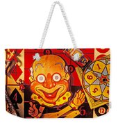 Clown Toy And Old Playthings Weekender Tote Bag by Garry Gay