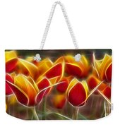 Cluisiana Tulips Fractal Weekender Tote Bag