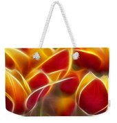 Cluisiana Tulips Triptych Panel 2 Weekender Tote Bag