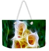 Cluster Of Gladiolas Triptych Panel 1 Weekender Tote Bag