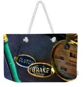 Clutch And Brake Weekender Tote Bag