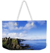 Co Antrim, Dunluse Castle Weekender Tote Bag