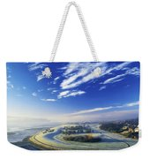 Co Derry, Ireland High Angle View Of Weekender Tote Bag