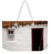 Co Galway, Ireland Detail Of A Cottage Weekender Tote Bag