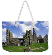 Co Offaly, Clonmacnoise Weekender Tote Bag