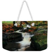 Co Wicklow, Ireland Waterfalll Near Weekender Tote Bag