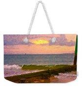 Coastal Climate Weekender Tote Bag