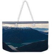 Coastal Range Fjords Weekender Tote Bag