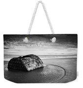 Coastal Scene Bw Weekender Tote Bag