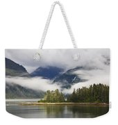 Coastline, Endicott Arm, Inside Weekender Tote Bag