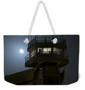 Cob Speicher Control Tower Under A Full Weekender Tote Bag by Terry Moore