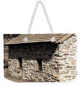 Cobblestone Weekender Tote Bag