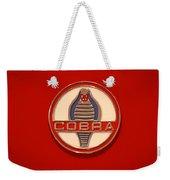 Cobra Emblem Weekender Tote Bag