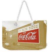 Coca-cola Sepia Weekender Tote Bag