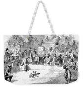 Cock Fighting, 1866 Weekender Tote Bag